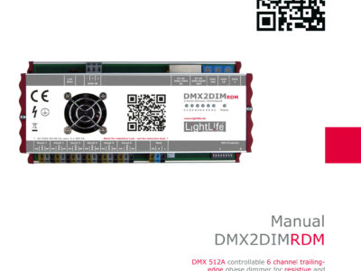 Manual DMX2DIM-RDM