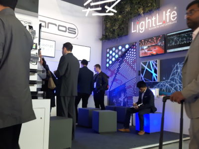LightLife und Pharos auf der light+building 2018