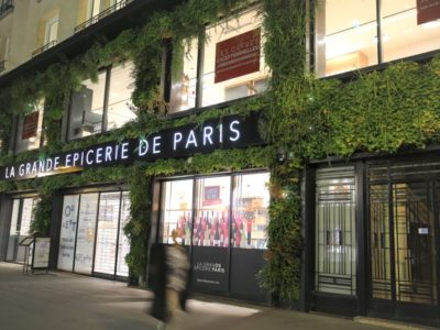 "Firefly – ""Lebende"" Medienfassade in Paris"