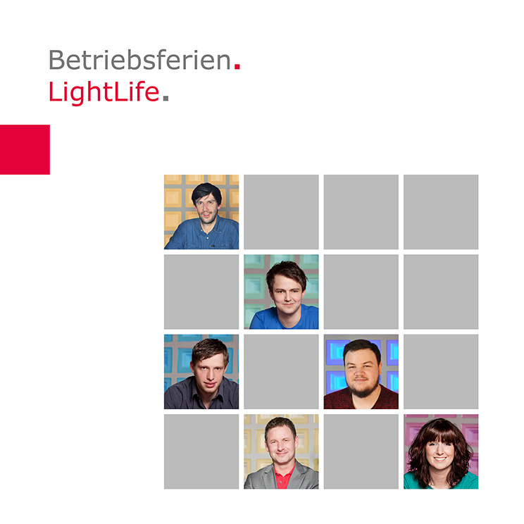 LightLife | Betriebsferien 2018